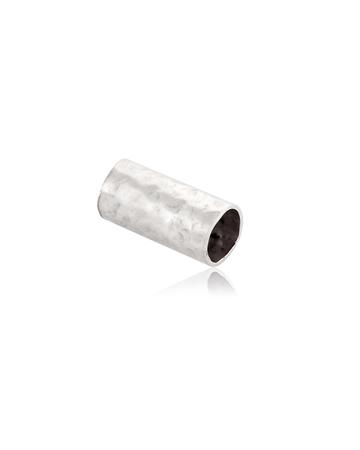 """תמונה של צינור כסף 925 5/10 מ""""מ מרוקע"""