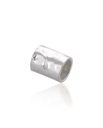 """תמונה של צינור כסף 925 4/5 מ""""מ מרוקע"""