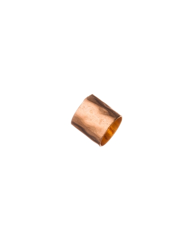 Picture of Rose Gold Filled 5/5mm Hammered Tube