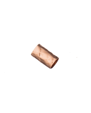 Picture of Rose Gold Filled 6/10mm Hammered Tube