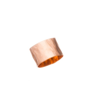 Picture of Rose Gold Filled 8/5mm Hammered Tube