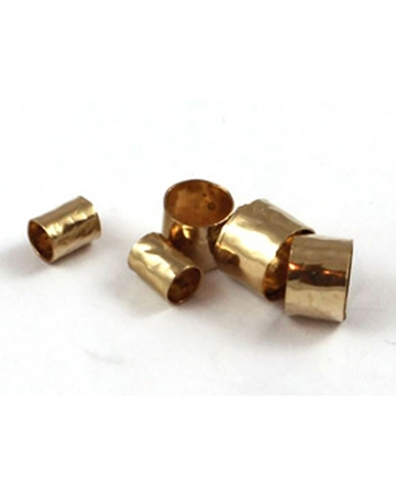 Picture of Gold Filled 5/5mm Hammered Tube