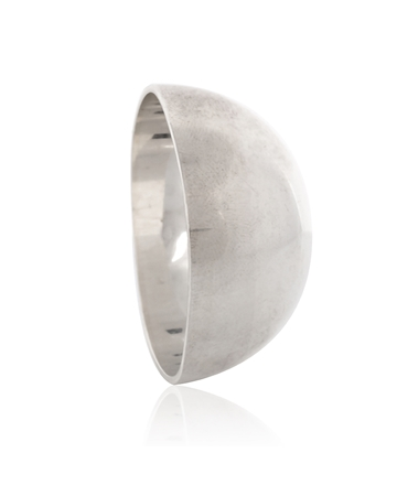 Picture of Sterling Silver 40mm Half Ball