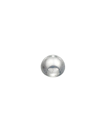 Picture of Sterling Silver 5mm Half Ball