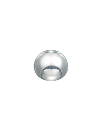 Picture of Sterling Silver 8mm Half Ball