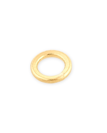 Picture of 14KY 3.8mm solder closed Jump ring