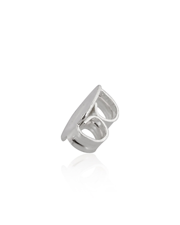 Picture of Sterling Silver 5.5mm Flat Ear Back For 0.8mm Post
