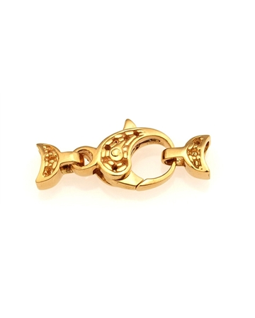 Picture of 18KY Small size Fishlock clasp 8mm