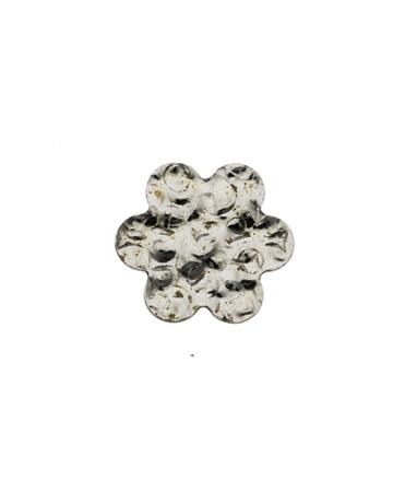 תמונה של דסקית כסף 925 פרח קטן מרוקע
