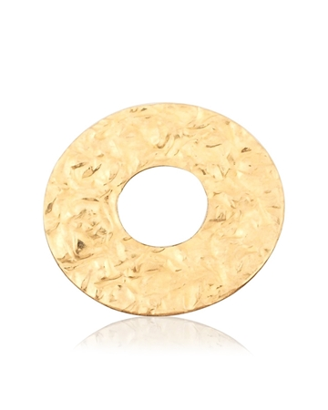 Picture of Gold Filled Satin Textured Disc I/d 6mm O/d 15mm