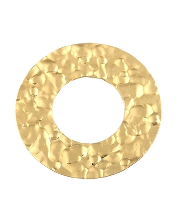 Picture of Gold Filled Hammered Disc I/d 15mm O/d 30mm