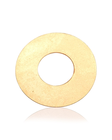 Picture of Rose Gold Filled Disc 10mm I/d 22mm O/d