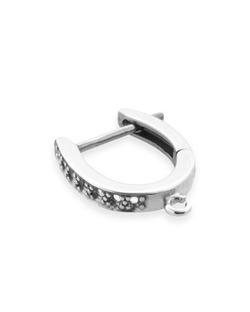 Picture of 14KW 12x1pt diamond earrings