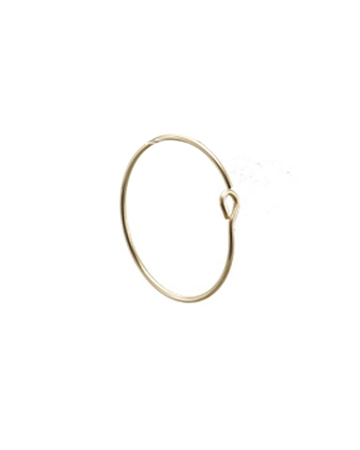 Picture of 17mm Gold Filled Hoop Wire Earring