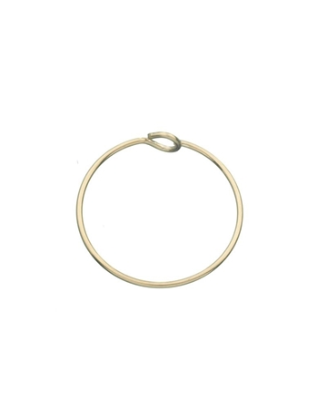 Picture of 15mm Gold Filled Hoop Wire Earring
