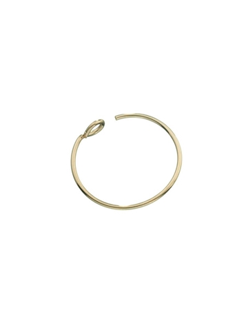 Picture of 13mm Gold filled hoop wire Earring