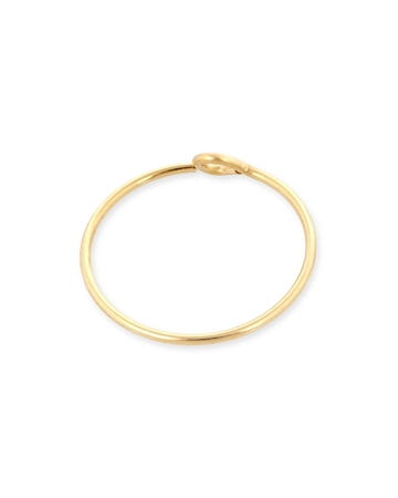 Picture of 14mm Gold Filled Hoop Wire Earring