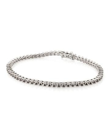 Picture of 14KW Tennis Bracelet 18cm long for 0.5pt round stones