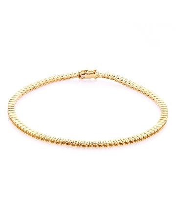 Picture of 18KY Tennis Bracelet 18cm long for 1pt round stones