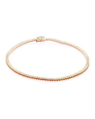 Picture of 18KR Tennis Bracelet 18cm long for 0.5pt round stones