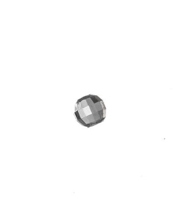 """תמונה של חרוז כסף 925 אוולי 4/6.5 מ""""מ חיתוך יהלום"""