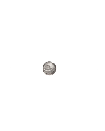 Picture of Sterling Silver 4mm Moon Cut Bead