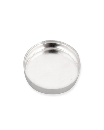 Picture of Sterling Silver 10mm Bezel Cup