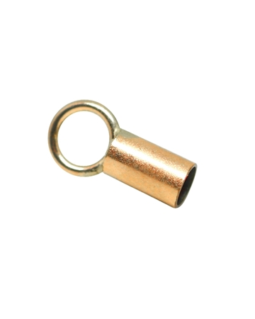 Picture of Rose Gold Filled 3.6mm End cap 4mm Long