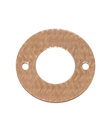 Picture of Rose Gold Filled Hammered Disc 7.5mm I/d 14mm O/d