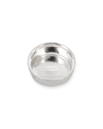 Picture of Sterling Silver 3mm Round Bezel Cup