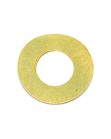 Picture of Gold Filled 35mm Plain Disc with 18mm Hole