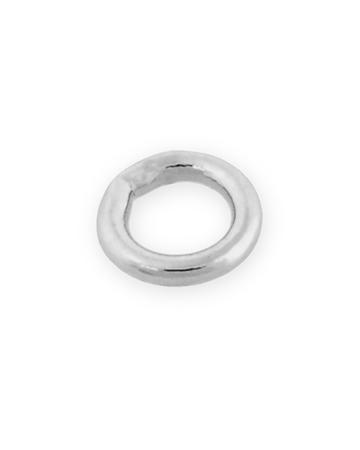 """תמונה של טבעת חיבור כסף 925  סגורה 2X5 מ""""מ"""