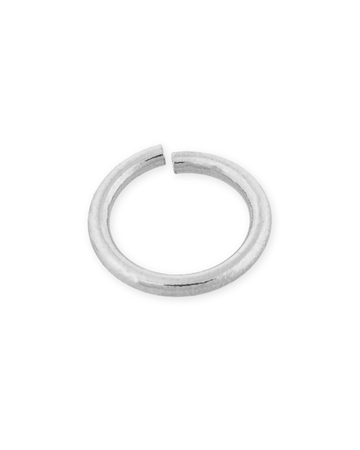 Picture of Sterling 925 Silver 1.5X10mm Open Jump Ring