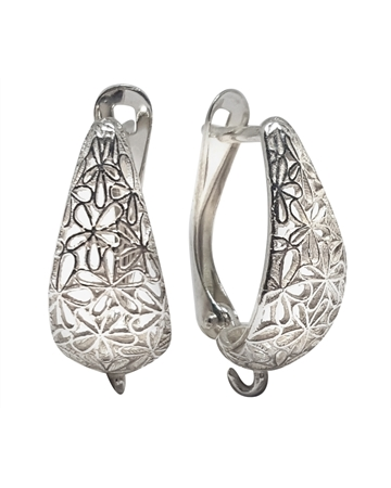 Picture of Sterling Silver Designed Earring
