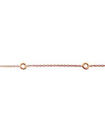 תמונה של 14KR-שרשרת-חוליות-עם-בתי-אבן-לשיבוץ-0.5/0.6קארט
