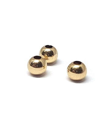 Picture of Gold Filled 3mm Bead 1.1mm Hole