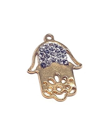 Picture of 14k Gold Plated Hamsa Pendant