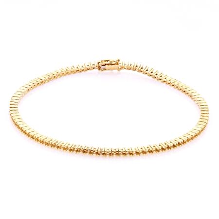Picture of 14KY Tennis Bracelet 18cm long for 1pt round stones