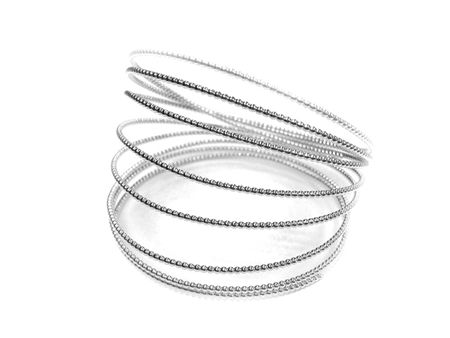 Picture of 935 Silver Beaded Wire 0.7mm