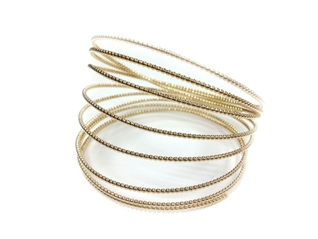 Picture of Gold Filled Beaded Wire 0.80mm