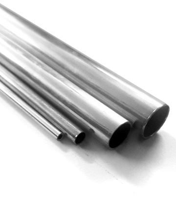 Picture of 925 Sterling Silver Round Tube 24mm/3mm