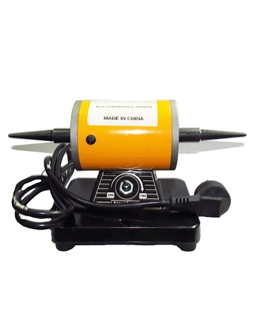 Picture of Small Cone Polishing 220V Motor Bench Grinder Machine