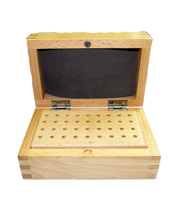 Picture of Burrs Wooden Box  W/ 36 holes