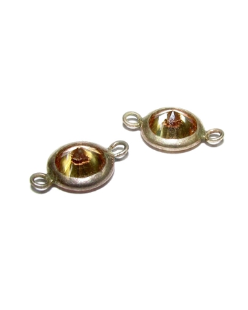 Picture of Gold Filled 8mm Bezel Cup With Stone Set