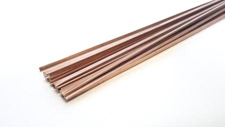 """תמונה של צינור זהב 14K אדום קוטר 2.5מ""""מ"""