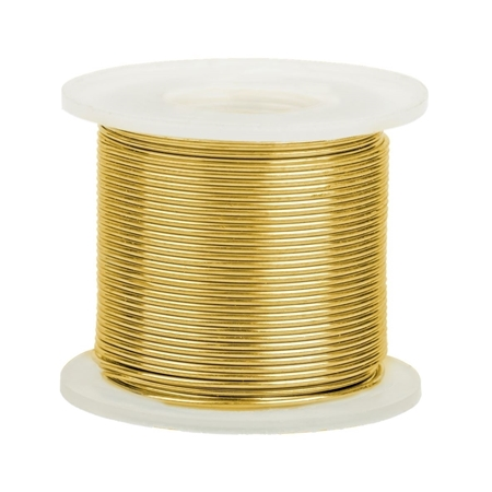 Picture of 14K Yellow Gold Round Wire 0.6mm/22 gauge
