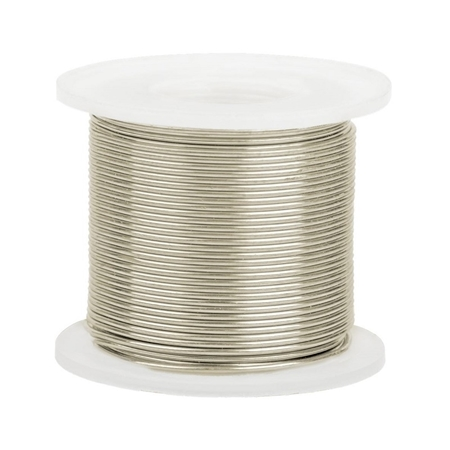 Picture of 14K White Gold Round Wire 0.6mm/22 gauge