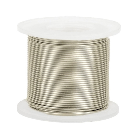 Picture of 14K White Gold Round Wire 0.7mm/21 gauge