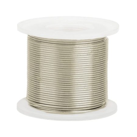 Picture of 14K White Gold Round Wire 0.5mm/24 gauge
