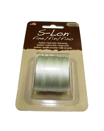Picture of Cream Twisted Cotton Cord 0.4mm